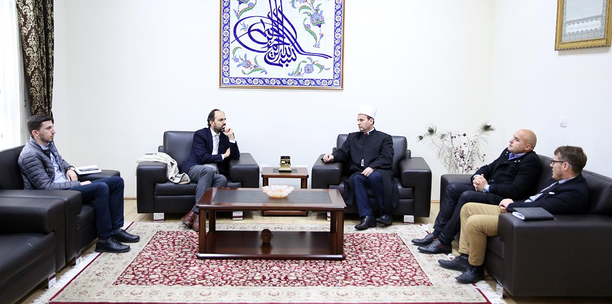 Ambasadori i ri i Spanjës në Shqipëri viziton KMSH-në