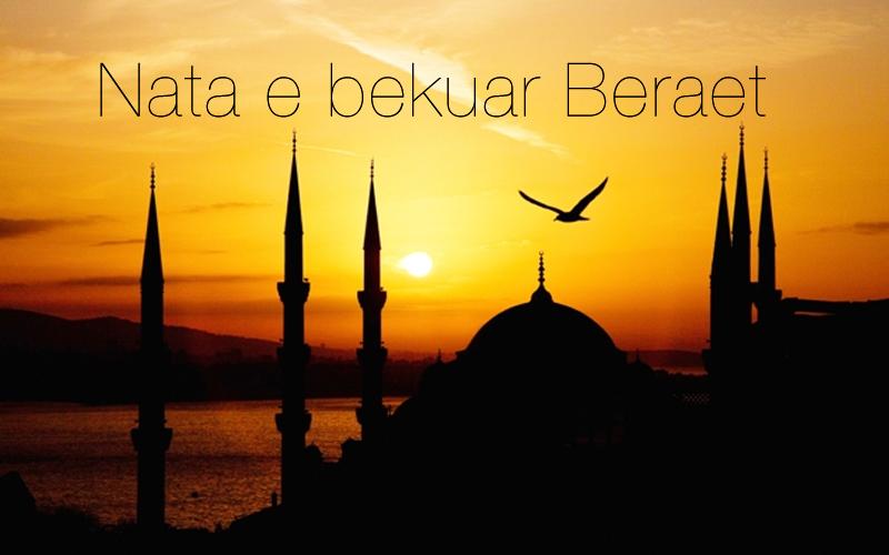 Kreu i KMSH, H. Bujar Spahiu, uron besimtarët për Natën e Beraetit!