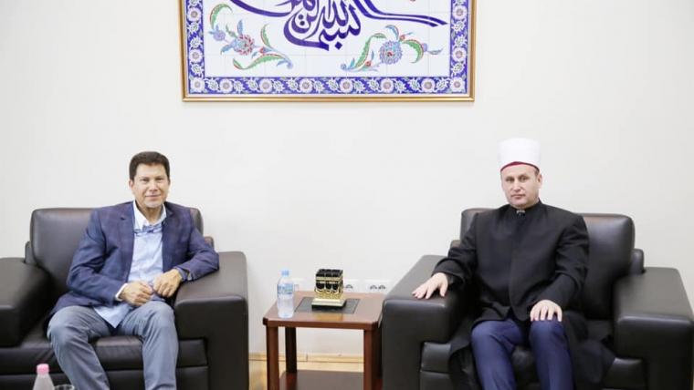 Kreu i KMSH-së, H. Bujar Spahiu takim me z. Ahmed Nesar Alkausi