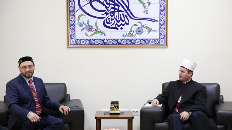 Një delegacion i Forumit Mysliman Europian viziton Komunitetin Mysliman të Shqipërisë
