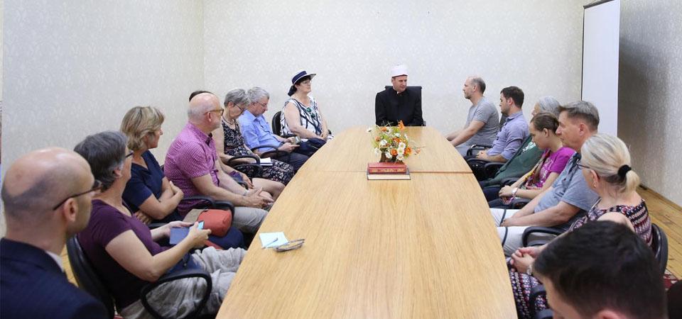 Gjatë javës që sapo lamë pas, një grup studiuesish, teologësh dhe aktivistësh nga Zvicra, vizituan KMSH-në