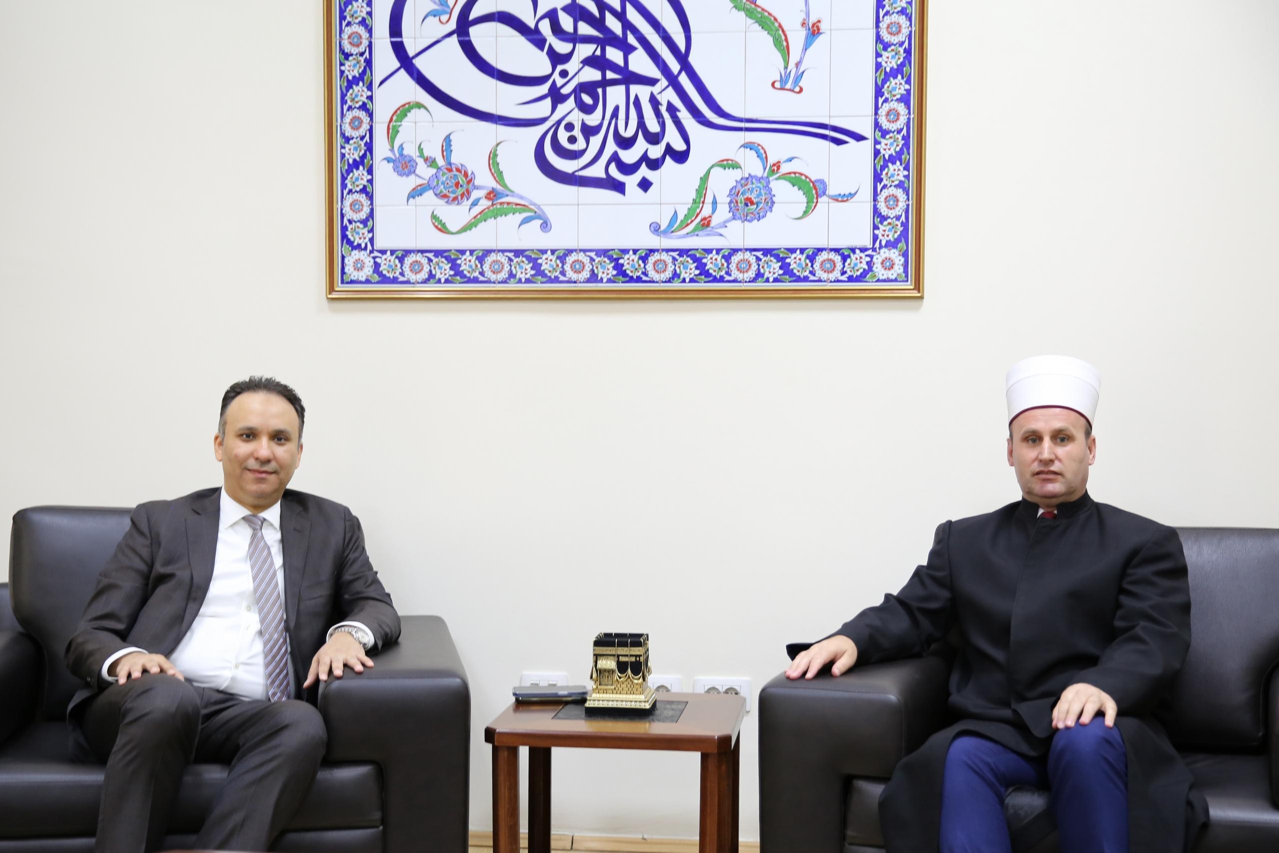 Ambasadori i Mbretërisë së Arabisë Saudite vizitë në KMSH.