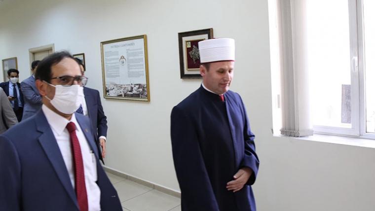 Prof. Dr. Ali Rashid al-Nuajmi, pritet nga Kryetari i KMSH-së