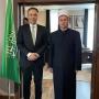 Kryetari KMSH-së vizitë në Ambasadën e Arabisë Saudite.