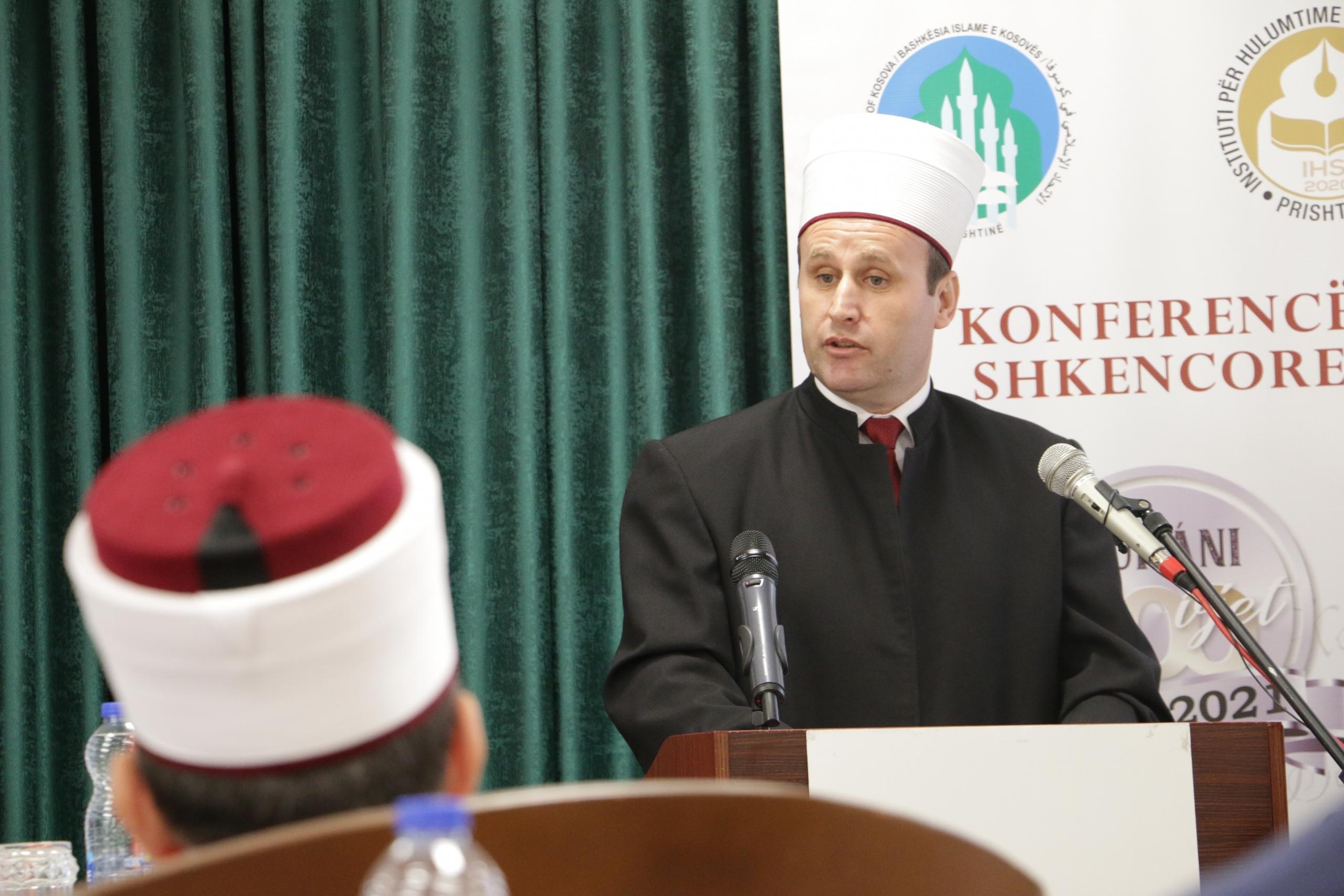 """Konferenca shkencore """"Një shekull nga përkthim i Kuranit nga Ilo Mitkë Qafëzezi""""."""