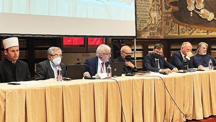Kryetari i KMSH merr pjesë në Forumin Ndërfetar të G-20 Itali